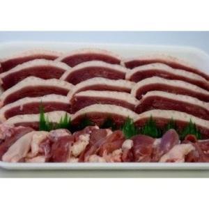 合鴨肉專門店『鴨鍋.com』冷凍国産合鴨ロースお徳用スライス400g