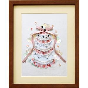 ミユキ ビーズデコールキット 「ガトードゥマリアージュ (ウェディングケーキ)」  BHD-032 MIYUKI Wedding|torii