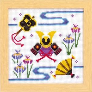 Olympusクロスステッチ刺繍キット 7463 「端午の節句」子供の日|torii