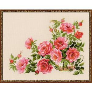 RIOLISクロスステッチ刺繍キット No.100/032 「Sweet flavor」 (スウィート・フレーバー)|torii