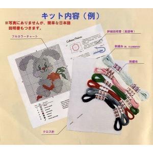 RIOLISクロスステッチ刺繍キット No.1449 「Garden Strawberry」 (庭のいちご イチゴ 苺) 【海外取り寄せ/納期1〜2カ月】|torii|02