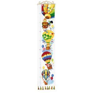 RIOLISクロスステッチ刺繍キット No.1507 「Higher and Higher!」 (もっと高く! 身長計)|torii