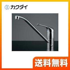 117-031 キッチン水栓 蛇口 台所 カクダイ ワンホールタイプ