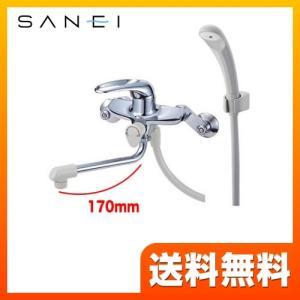 浴室水栓 浴室用 三栄 CSK1710D-13 壁付 シングルシャワー混合栓 torikae-com