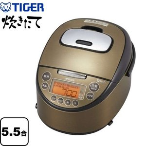 炊飯器 5.5合炊き タイガー JKT-C100-TK IH炊飯ジャー 炊きたて