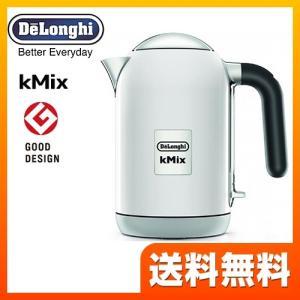 電気ケトル・ポット 1.0L デロンギ ZJX650J-WH kMix ケーミックス 電気ケトル