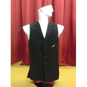 6050 ジュブナイル ロングベスト ジュニア 東京トリキン メンズ 社交ダンス ダンス衣装|torikin21