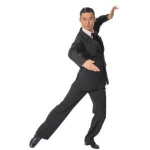 80006 ピン6 ストライプ ジャケット 東京トリキン メンズ 社交ダンス ダンス衣装 送料無料|torikin21