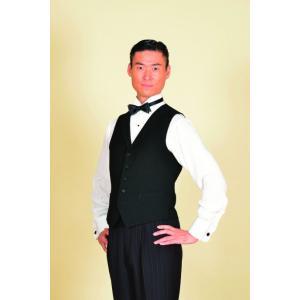 25011 ピン6 ストライプ ベスト 東京トリキン メンズ 社交ダンス ダンス衣装|torikin21