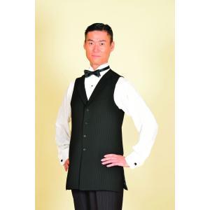 30007 ピン6 ストライプ ロングベスト 東京トリキン メンズ 社交ダンス ダンス衣装 送料無料|torikin21