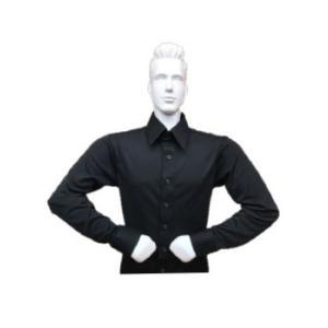 スリム ストレッチシャツ 東京トリキン メンズ 社交ダンス ダンス衣装|torikin21