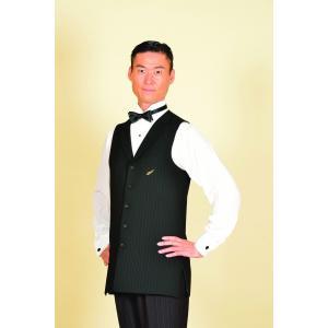 30003-2 ピン2 ロングベスト 東京トリキン メンズ 社交ダンス ダンス衣装 送料無料|torikin21