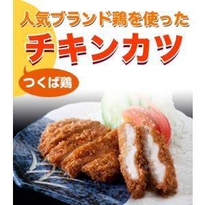 国産 つくば鶏 チキンカツ 120g×5個 人気ブランド鶏を丁寧に加工しチキンカツにしました。豚カツよりヘルシーなチキンカツ!【茨城県産】【銘柄鶏肉】