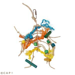 CAP! 鳥のおもちゃ Zoo-Max ベルグラ 111|torimura