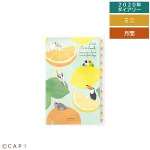 【MIDORI】2020年版 ポケットダイアリー<ミニ> トリ柄|torimura