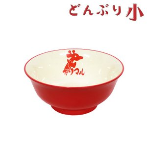 CAP! 小笠原製粉 キリマルラーメンどんぶり 赤(小)|torimura