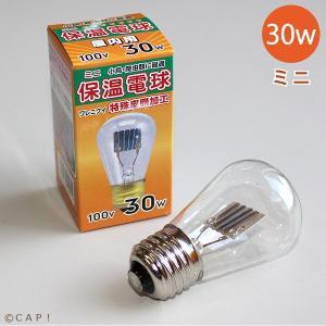 アサヒ ミニ保温電球 30W|torimura