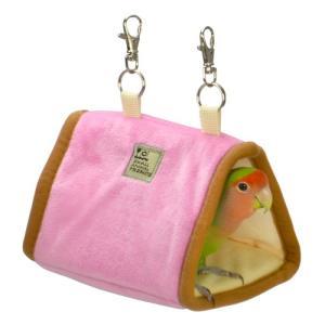 【SANKO】小鳥の三角ベッド ブラウン|torimura