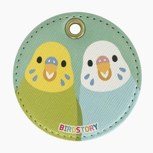 【Birdstory】SMILE BIRD キーホルダー(セキセイ) torimura
