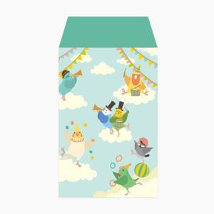 【Birdstory】BIRD SKY CIRCUS ポチ袋|torimura