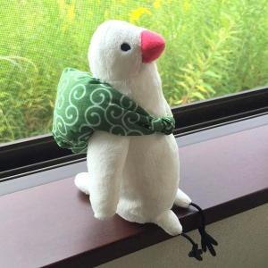 ふろしき文鳥 ぬいぐるみ|torimura