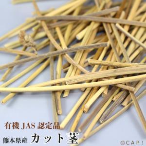 CAP! 鳥の餌 有機JAS認定品 カット茎 30g 熊本県産|torimura