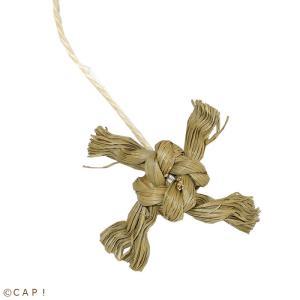CAP! 鳥のおもちゃ いぐさ かじりーず ニンジャスター|torimura
