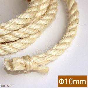 かじりーずサイザル麻ロープ直径10mm(2mカット)|torimura