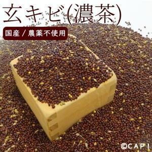 CAP! 鳥の餌 国内産/農薬不使用 玄キビ(濃茶) 200g|torimura
