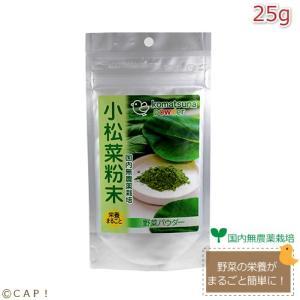 CAP! 鳥の餌 賞味期限:2021/5/31 黒瀬ペットフード 小松菜粉末 25g|torimura