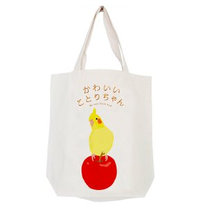CAP! 鳥グッズ トートバッグ かわいいことりちゃん 絵本トートM|torimura