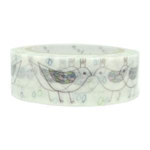【ShinziKatoh】 マスキングテープ bird tiara|torimura