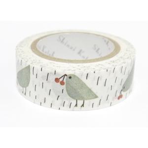 【ShinziKatoh】 マスキングテープ 小鳥|torimura