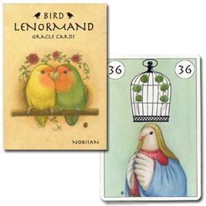 【ニチユー】BIRD LENORMAND ORACLE CARDS|torimura