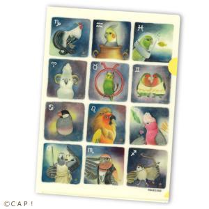 CAP! 鳥雑貨 NORISAN A4ファイル 12星座|torimura