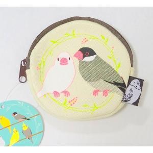 【トーシンパック】コインケース文鳥|torimura