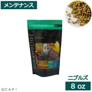 CAP! 鳥の餌 賞味期限:2022/3/12ラウディブッシュ デイリーメンテナンスニブルズ 8oz 227g |torimura