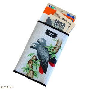 【YAYWALLET】カードホルダー ヨウム SKU:1088 torimura
