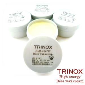 TRINOX トリノックス ハイエナジー ビーズワックス クリーム 45g みつろうクリーム 蜂蜜 肩 腰 ひざ 指 筋肉痛 ニキビ|torinox-store