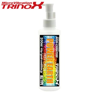 TRINOX トリノックス パワーアース ローション 200ml 起電微粒子 筋肉 ストレッチ 深層筋肉 表層筋肉 骨格歪み 補正 脂肪燃焼|torinox-store