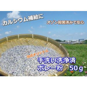 オリジナル ボレー粉50g 手洗い洗浄・オゾン殺菌 カルシウム補給 / 送料無料|torippie