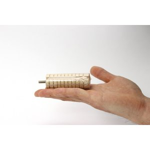 インコのおもちゃ かじり木コーン S|torippie