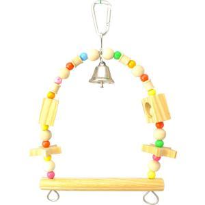 インコのおもちゃ ブランコM|torippie