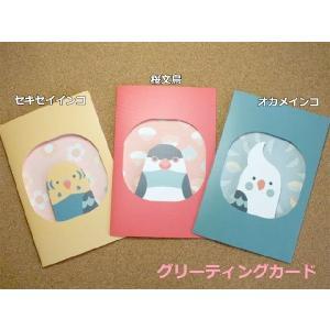 KOTORITACHI グリーティングカード (グリカ) メッセージカード 全3種類|torippie