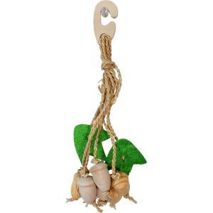 インコのおもちゃ ナチュラルハンガー どんぐりの関連商品2