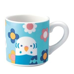 (KOTORITACHI)インコ マグカップ (セキセイインコ)|torippie