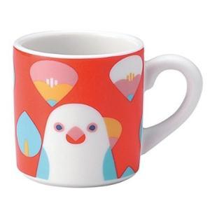 (KOTORITACHI)インコ マグカップ (文鳥 ブンチョウ)|torippie