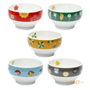 (KOTORITACHI)インコ 茶碗 全5種類  飯碗 ご飯茶碗|torippie