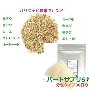 小型インコ用ご飯セット (とりっぴー厳選シードミックス 300g + ネクトンS 30日分) 送料無料|torippie