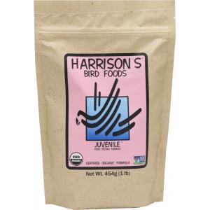 ハリソン(Harrison s) 鳥用ペレット ジュブナイル(JUVENILE) フォーミュラ 454g  メール便OK torippie